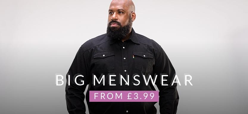 2XL - 10XL Big Menswear